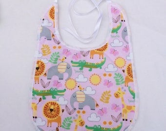 ABDL Ageplay Adult Bib - Jungle Party