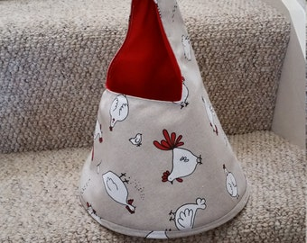 peg bag. chickens peg bag, clothes pin holder, laundry, mothers day gift