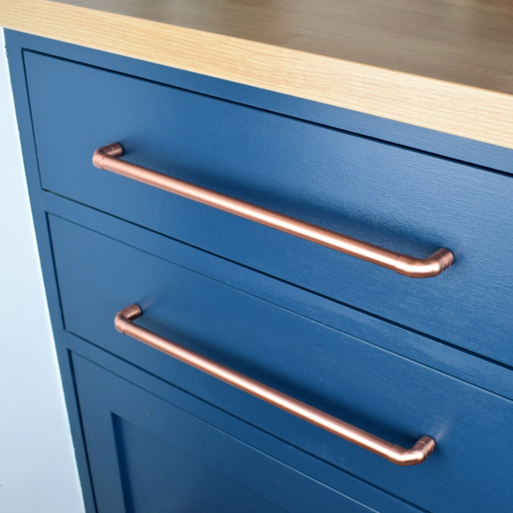 Copper Pull Large Sizes Drawer Handle Drawer Pull Cabinet