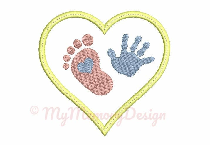 Hand Embroidery Designs For New Born Baby
