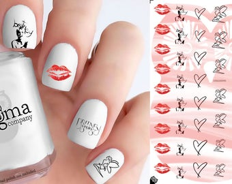 Britney Spears Nail Decals (Set of 50)