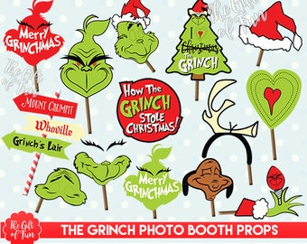 "Shop ""the grinch"" in Paper & Party Supplies"