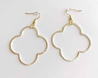 Beckley Quatrefoil Earrings