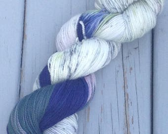 Wind and the Willows - hand dyed yarn