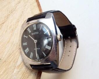 Vitage Soveit watch, Vostok 18  jewels  - USSR Men's Watch Wostok - 1970s, mens watch, mens watch, ussr mens watch, mechanical watch