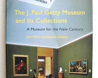 The J. Paul Getty Museum and Its Collections -- Oversize Illustrated First Edition