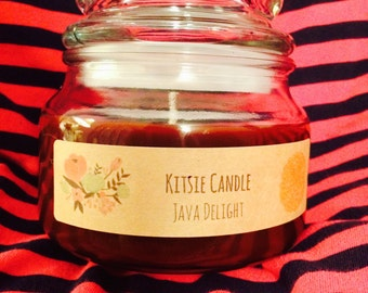 Java Delight - by Kitsie Candle