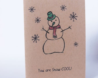 Christmas Card - Snow Cool