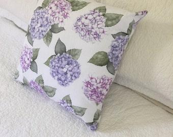 Spring Fresh Hydrangea Cushion Cover - 45 x 45cm - Gorgeous