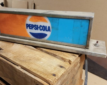 Pepsi refrigerator light