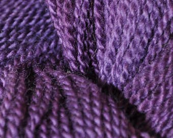 Local Wool Yarn in Suffragette Colors DK Weight