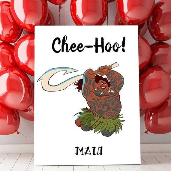 Disney Moana Maui Chee-Hoo Wall Hanging