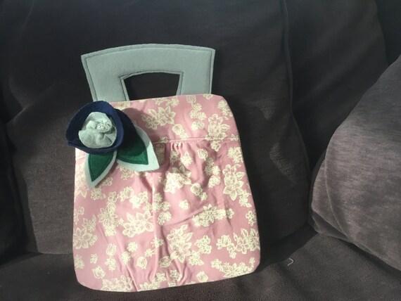 Whimsical Handmade Vintage Sytle Handbag
