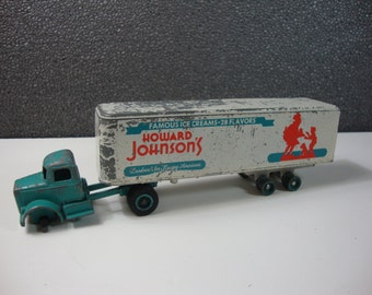 Winross Diecast Howard Johnson's Famous Ice Creams Semi Tractor & Trailer Vintage Toy Truck 28 Flavors