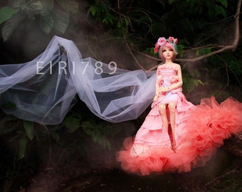 Fantasy Jellyfish Gown for bjd