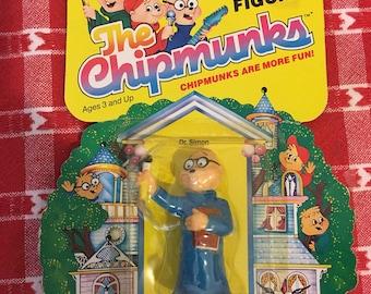 Vintage 1984 Ideal Alvin and the Chipmunks Dr. Simon Figure