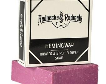 Hemingway – Tobacco & Birch Flower Soap
