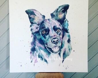 LARGE CANVAS Custom Pet Portrait