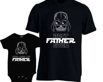 Star Wars shirt, Father and daughter  shirts.