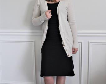 The Black Spandex Skirt