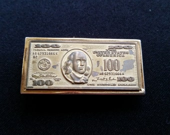 100 Dollar Bill Money Clip