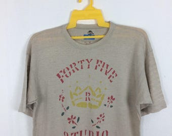 45rpm shirt Large size