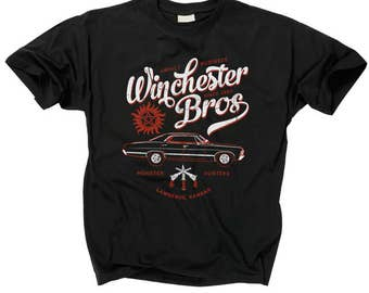 SUPERNATURAL T Shirt Winchester Bros