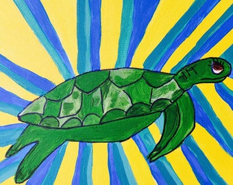 Happy Honu Painting Commission