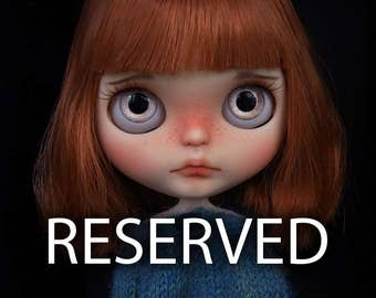 RESERVED - VintageTidbit - First Payment - Custom Blythe Doll By deDolly #143