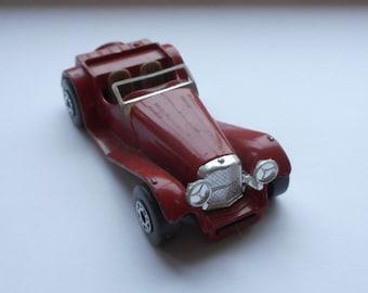 Matchbox, die cast meta,l toy car, 1982, SS 100 Jaguar 1:50