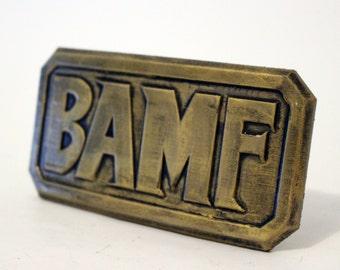 McCree Belt Buckle from Overwatch [Fan-art]