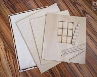 1/6 Scale Unfinished Roombox For Blythe Azone Momoko etc