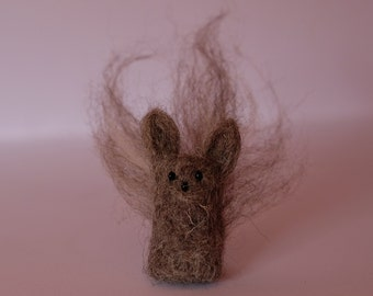 Needle-felted grey squirrel. Cute little fun gift Grayson!