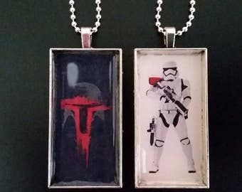 Star Wars Boba Fett or First Order Trooper. Storm Trooper