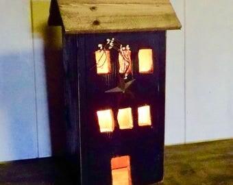 Black Berry Farmhouse Light