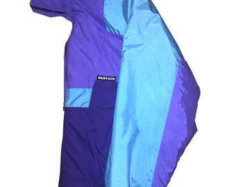 Sun Ice Ski Jacket - 90s - Blue & Purple