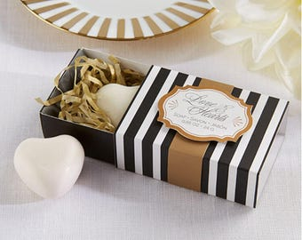 Love and Hearts Soap wedding favor