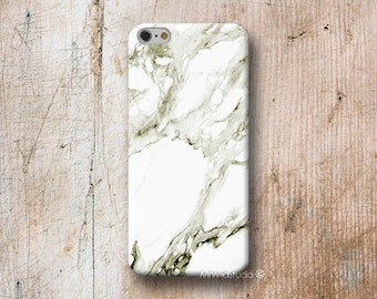 White Marble Pattern Phone Case for iPhone 4 4S 5 5S SE 5C 6 6S PLUS iPod Touch 5 6