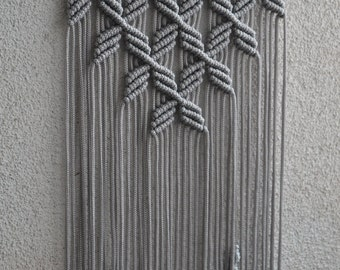 Macrame wall handing interior design B01MT9DF1X