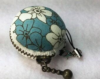Macaron Coin Purse, Fabric Coin Purse ,Coin Pouch , Macaroon Purse, Jewellery case, coin pouch key chain