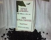 100% Peaberry Kona Coffee