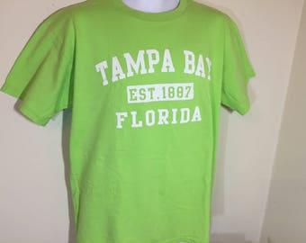 TAMPA BAY, FLORIDA Est 1887   - T-Shirt Adult L  y