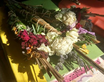 Sacred Organic Homegrown Botanical Smudge Stick