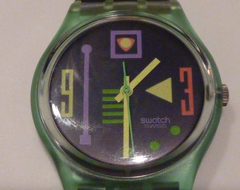 New with Tags - 1991 Swatch Watch Fever
