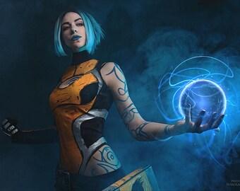 Borderlands 2 cosplay costume Maya the Siren