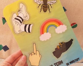 The Dream Team Sticker Sheet