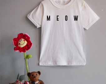 Meow/Woof Children's Tee