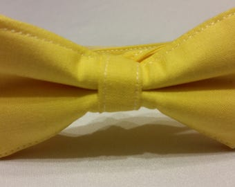 SALE Boys Pencil Yellow Bowtie