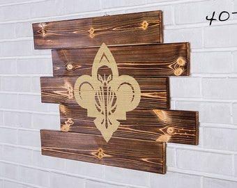 New Orleans Pelicans Wood Sign New Orleans Pelicans Wall art New Orleans Pelicans Gift New Orleans Pelicans Birthday