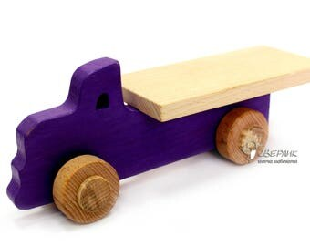 Personalized Wooden Truck, Wooden Toy, Vehicle Kids Toy, Freight cars